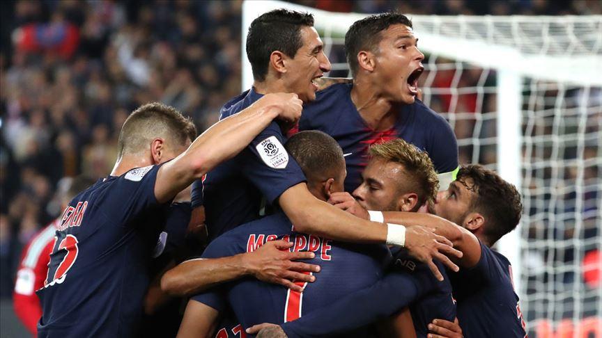 Şampiyon PSG, Monaco'yu 3 golle geçti