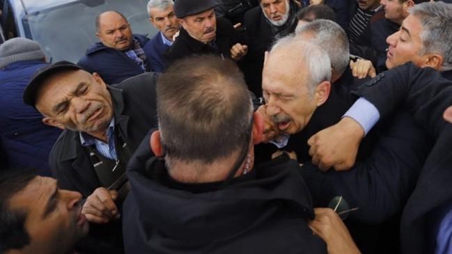 Sivrihisar'da yakalandı... Kılıçdaroğlu'na yumruk atan kişi gözaltında!