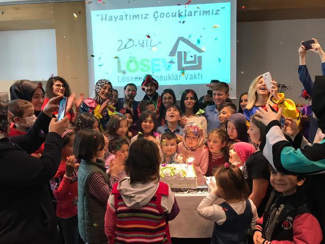Konya'da Lösemili Çocukların 23 Nisan sevinci