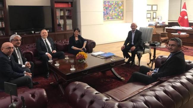 İlk onlar gitti... HDP'den Kılıçdaroğlu'na geçmiş olsun ziyareti!