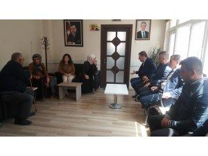 Milletvekili Yıldız'dan Kızılcahamam Belediye Başkanı Acar'a ziyaret