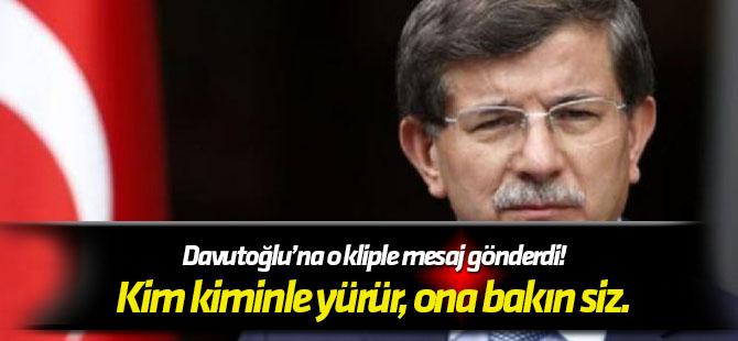 Egemen Bağış, Ahmet Davutoğlu'na o kliple mesaj gönderdi!