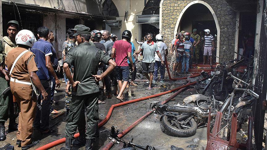 Sri Lanka'da bugün yine bir patlama oldu