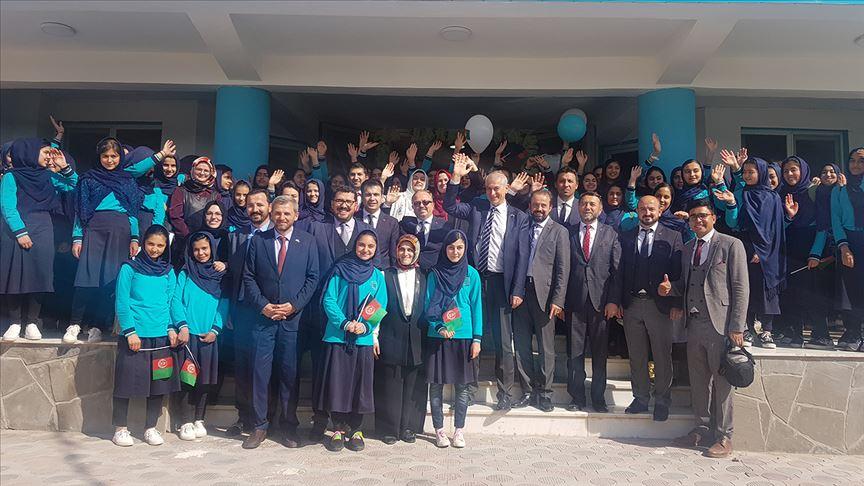 Afganistan'da TMV Herat okulları eğitim ve öğretime başladı
