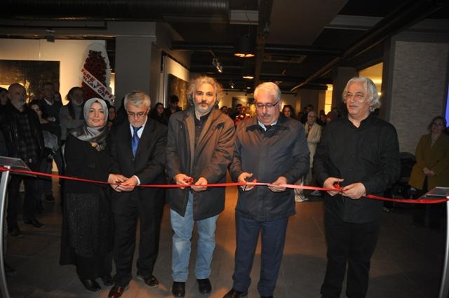 Emre Tan, Resim sergisi açıldı