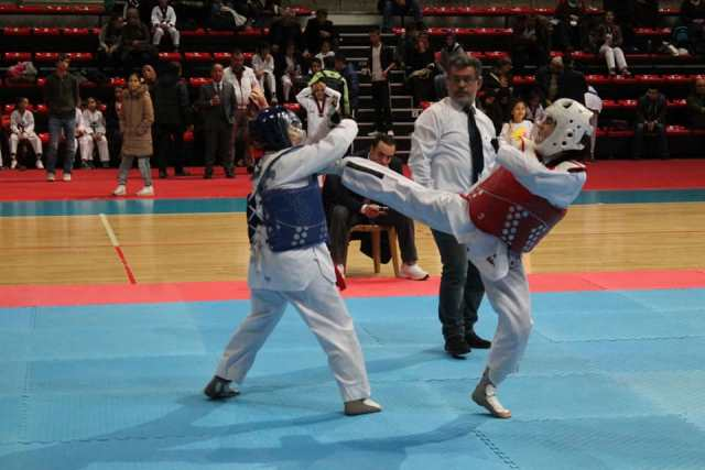 Okullar Taekwondoda Küçük Şampiyonlar Belirlendi