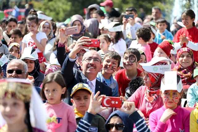 Başkan Kavuş'tan çocuklara ve ailelerine müjde