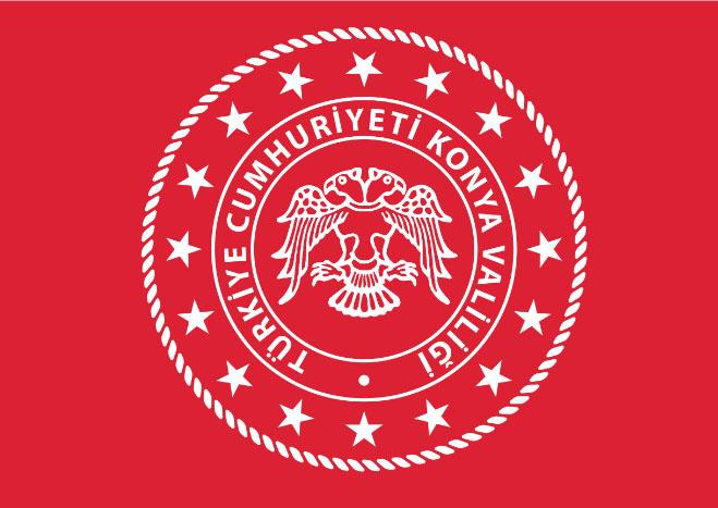 Konya Valiliği'nin logosu değişti