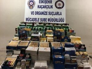 Eskişehir'de kaçakçılık operasyonu, 1 gözaltı