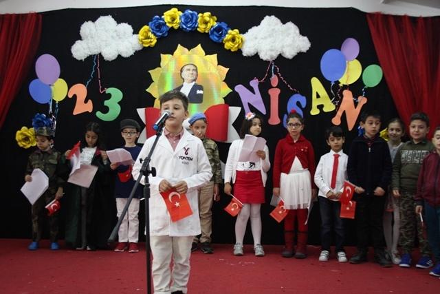 Yöntem'li öğrenciler bayramı coşkuyla kutladı