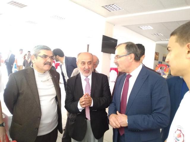 Mehmet Tuza öğrencileri Bilim Fuarı açtı