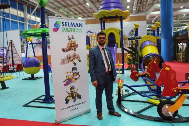 Selman Park ürünleri rengarenk