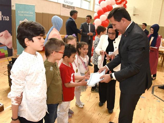 AKİP 2. Turnuvası'nda öğrenciler ödüllerini aldı