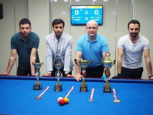 23 Nisan Ulusal Egemenlik Kupası 3 Bant Bilardo Turnuvası Tamamlandı