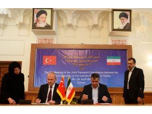 Türkiye ile İran arasında ulaştırma alanında mutabakat zaptı
