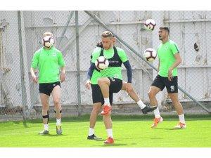 Atiker Konyaspor, Alanyaspor maçı hazırlıklarını sürdürdü