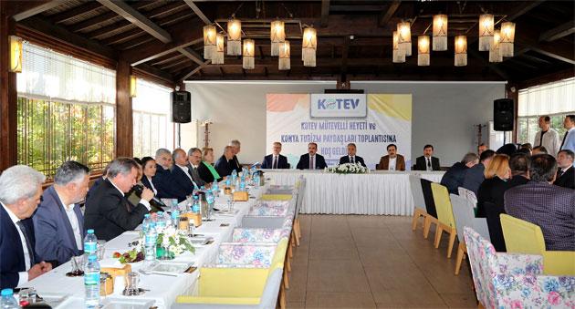 Konya turizm paydaşları toplantısı yapıldı