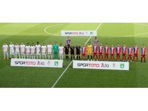 Spor Toto 1. Lig: İstanbulspor: 1 - Kardemir Karabükspor: 0