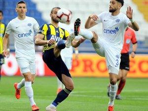 Spor Toto Süper Lig: Kasımpaşa: 1 - Fenerbahçe: 1 (Maç devam ediyor)