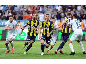 Spor Toto Süper Lig: Kasımpaşa: 1 - Fenerbahçe: 1 (İlk yarı)