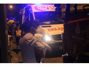 Fatih Yedikule'de binanın tabanı çöktü yaralılar var