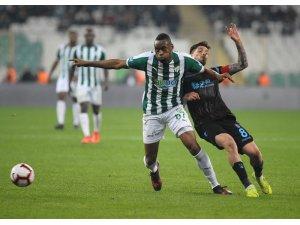 Bursaspor'a Bakkal'da çare olamadı