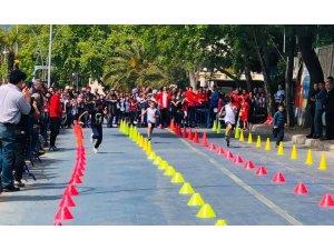 Erdek'te küçük sporcular yarıştı