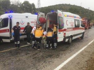 Milas'taki kazada yaralı sayısı 42'ye yükseldi