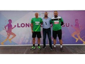 Edinciksporlu atletler Longoz Koşusu'na katıldı