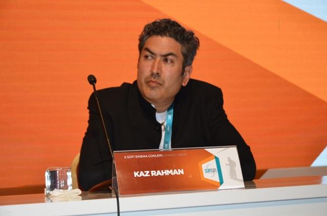 Yönetmen Kaz Rahman, Konya'da sinema severlerle buluştu