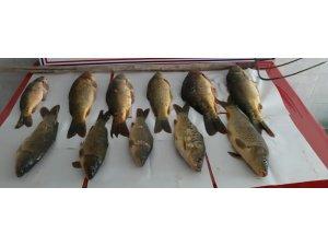 Kaçak avlanma yapan 7 kişiye 11 bin TL para cezası