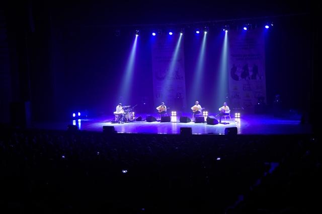 """""""Le Trio Joubran"""" Konya'da sahne aldı"""