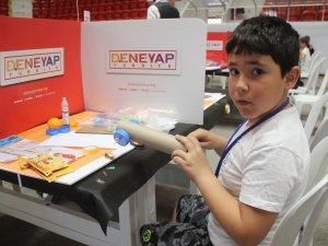 """Gençler """"teknoloji yıldızı"""" olmak için hünerlerini sergiledi"""