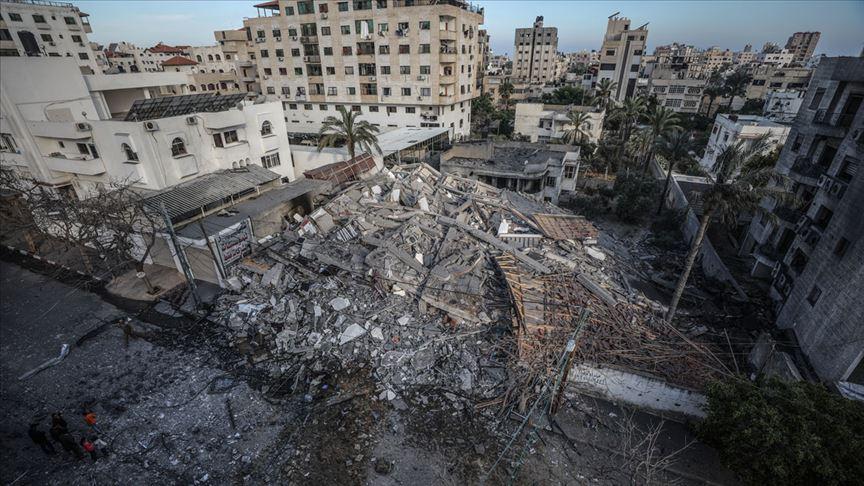 """""""Gazze'ye yönelik saldırılarda ateşkesi İsrail talep etti"""""""