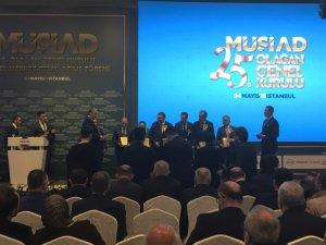 Kdz. Ereğli MÜSİAD Başkan Çınar ve yönetimi genel kurula katıldı