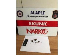 Zonguldak'ta polisten uyuşturucu operasyonu
