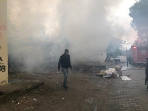 İncirliova'da yangın, mahalle duman altında kaldı