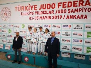 Yunusemreli judocular Ankara'dan derecelerle döndü