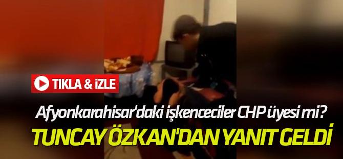 Tuncay Özkan'dan yanıt geldi Afyonkarahisar'daki işkenceciler CHP üyesi mi?