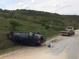 Bilecik'te trafik kazası, 2 yaralı