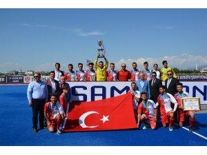 Gaziantep Polisgücü erkek hokey takımı Türkiye şampiyonu