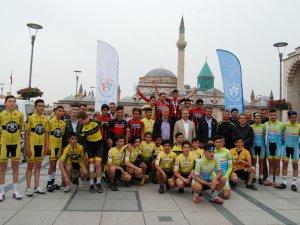 Konya'da bisiklet turu