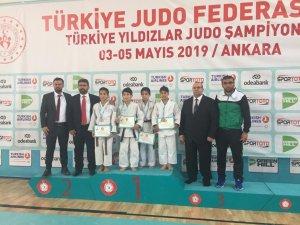 Selçuklu Belediyespor'dan judoda 2 madalya