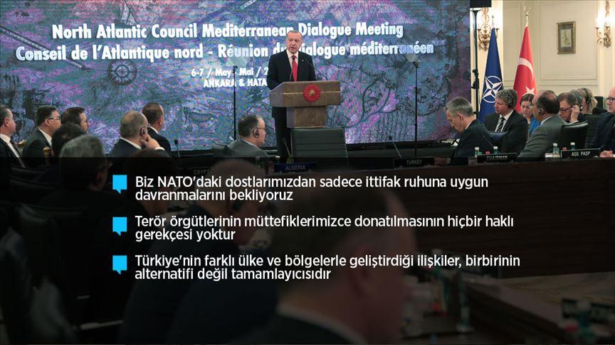 Cumhurbaşkanı Erdoğan: DEAŞ terör örgütünü hezimete uğratan tek NATO ülkesi biz olduk