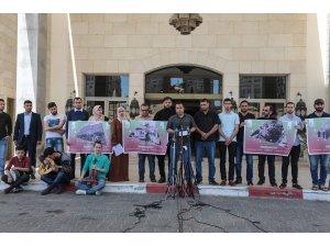"""Filistinli sanatçılardan AB'ye """"İsrail'de Eurovision iptal edilsin"""" çağrısı"""