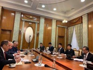 Çin ve Rusya Dışişleri bakanlarından kritik görüşme