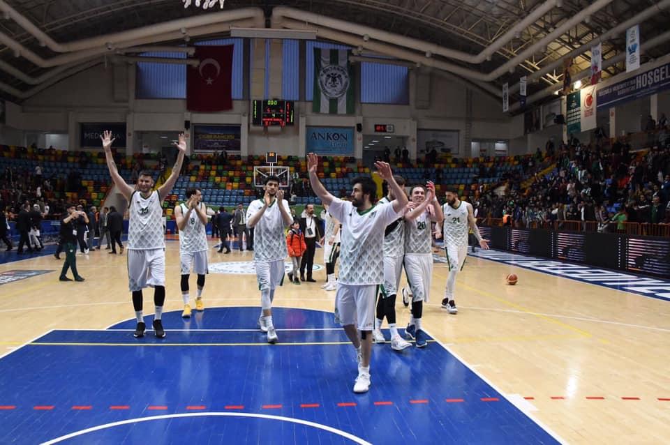 Konyaspor Basketbol TBL play-off'unda yarı finalde