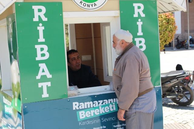 Ribat'tan yardım standı