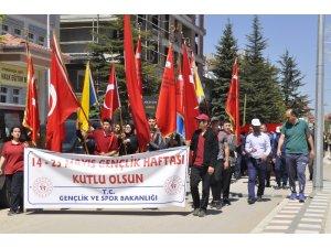 Şuhut'ta Gençlik Yürüyüşü
