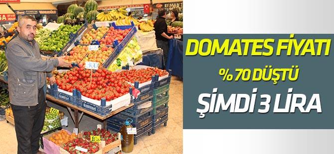 Domates fiyatları yüzde 70 oranında düştü